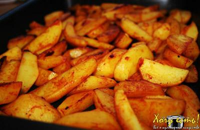 Картофель + Мед – кулинарный рецепт